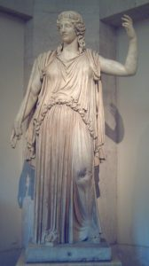 Demeter, Greek Goddess of agriculture, fertility, sacred law and the harvest