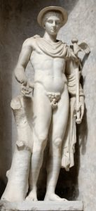 Hermes, Greek God of Trade, Eloquence and Messenger of the Gods
