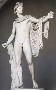 Apollo, Greek God of the Sun, the Light, the Music and the Prophecy