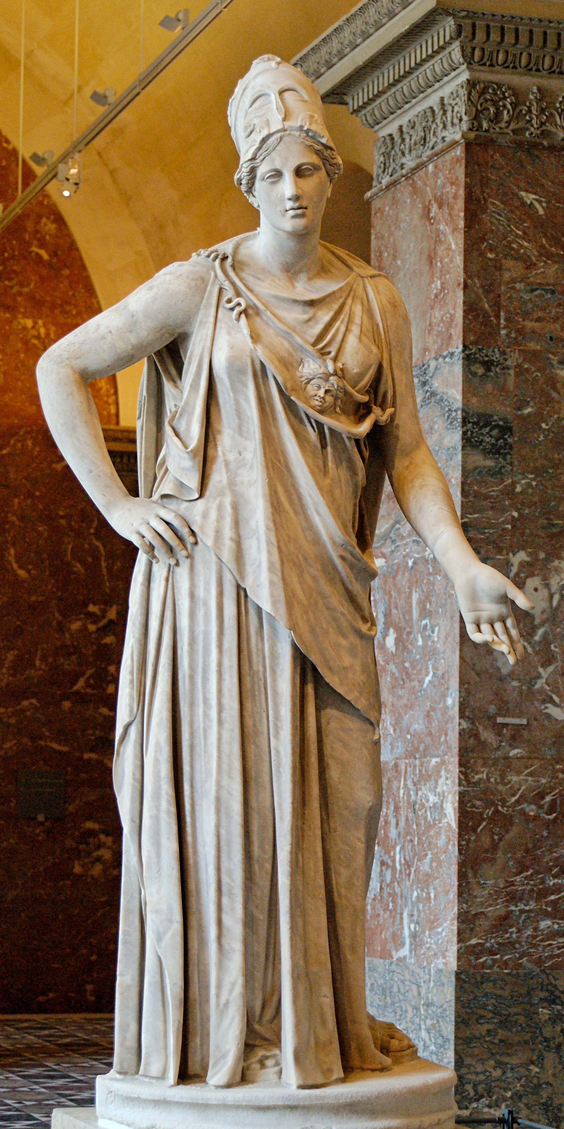 Athena • Facts and Information on Greek Goddess Athena
