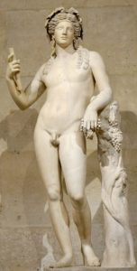 Dionysus, Greek God of Wine and the Grape Harvest