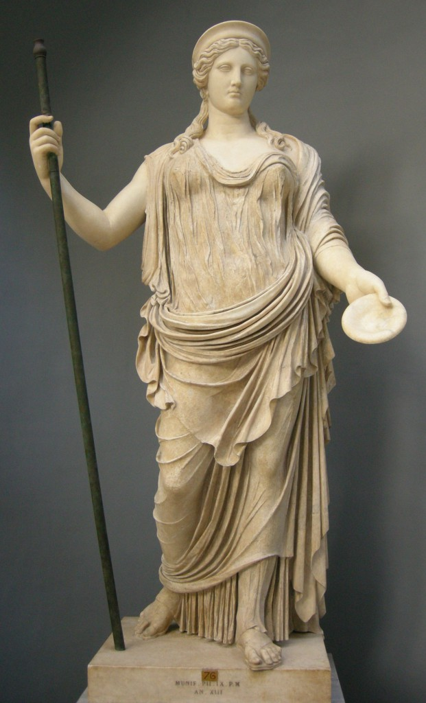 Hera facts and information on greek goddess hera - God and goddess statues ...