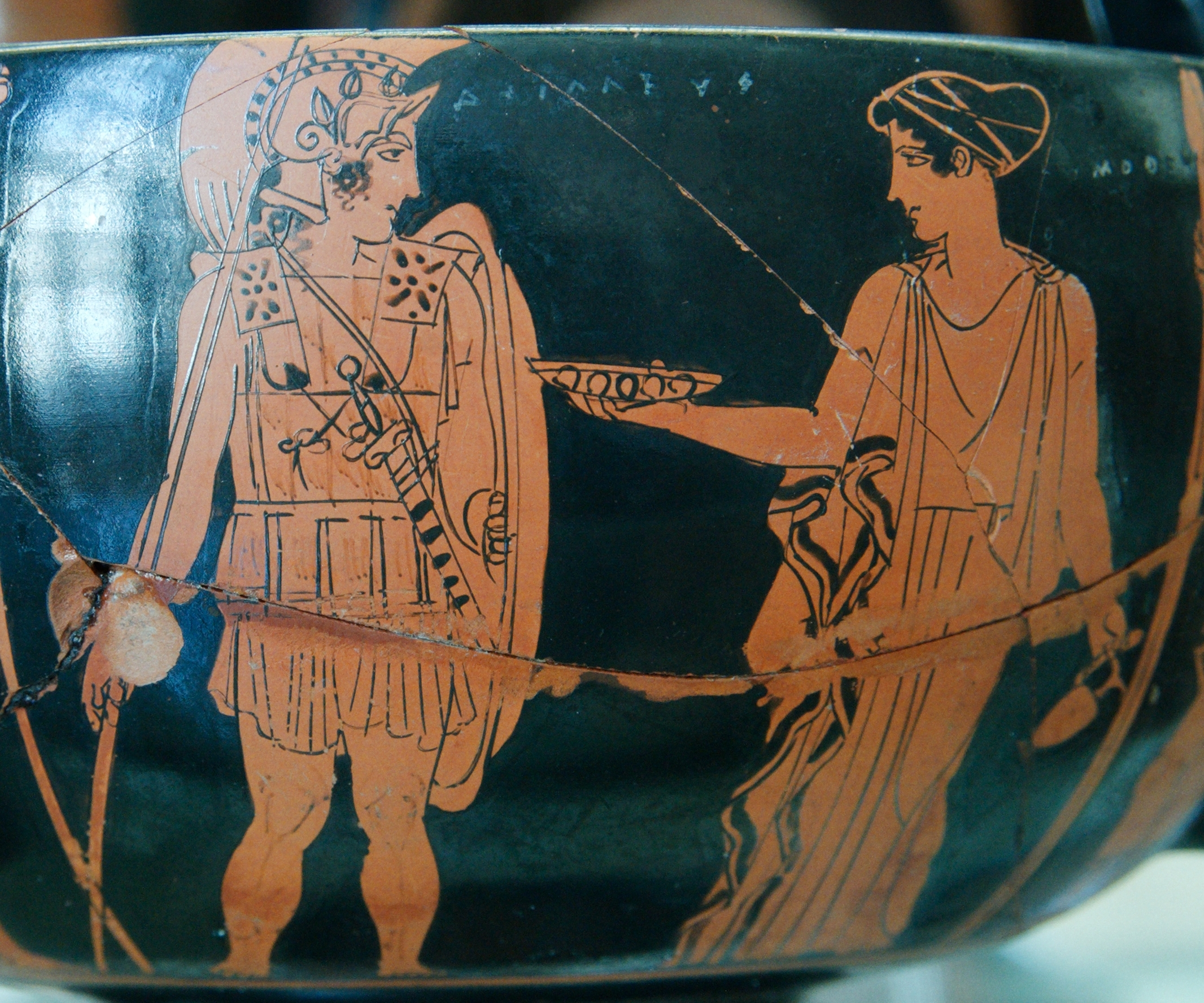Mythological hero and the concept of true heroism in the Greeks