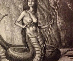 Lamia – The Child-Devouring Queen – Ancient Greek Creature – Monster